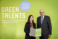 Parliamentary State Secretary Dr Michael Meister and Green Talent Yee Qing Lai