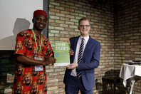 Certificate of elevator pitch participation for Chukwuebuka Christopher Okolo (GT 2017)