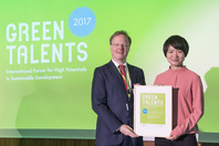 General Director Matthias Graf von Kielmansegg and Green Talent Linjun Xie