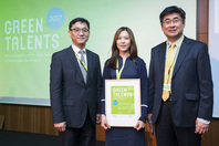 Ambassador of Korea with Green Talent Sea Jin Kim