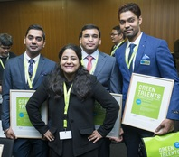 Green Talents from India, Pakistan and Fiji