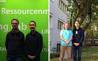 Enayat Moallemi visiting Dr Georg Holtz at the Wuppertal Institute and Dr Jonathan Köhler at Fraunhofer ISI in Karlsruhe during his individual appointments, October 2017.