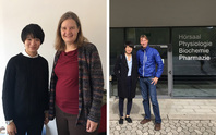 Linjun Xie visiting Prof Miranda Schreurs at Bavarian School of Public Policy, Munich and Dr Philipp Späth at Institute of Environmental Social Sciences and Geography, Albert-Ludwigs University Freiburg during her indiviual appointment, October 2017.