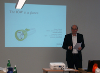 Introduction of IÖW by Mr. Korbun