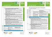 Draft Programme of Alumni Conference 2016