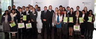 The Green Talents 2013 with Mr Wilfried Kraus from BMBF and jury member Prof Dr Martin Faulstich
