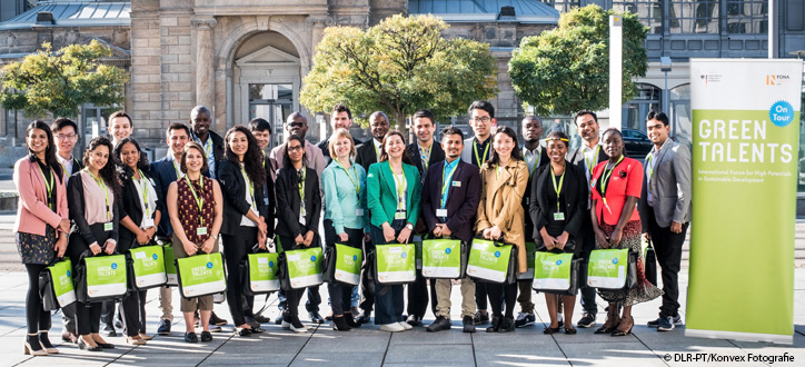 We are proud to announce the winners of the Green Talents Competition 2018. Read more about their bios and research.