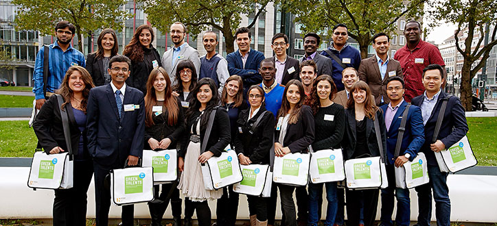 Green Talent Awardees 2015