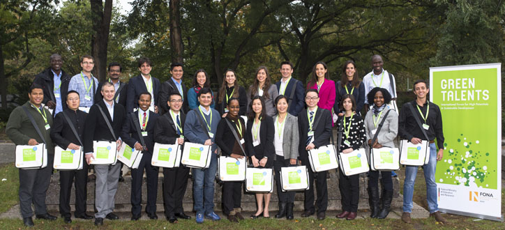 Green Talent Awardees 2016