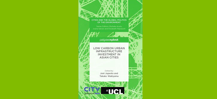 Low Carbon Urban Infrastructure_Title from Joni Jupesta´s new book
