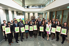 Green Talents Awardees 2015