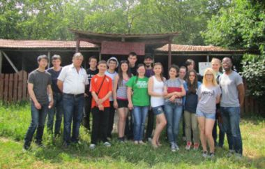 Participants of the first CURIOS Summer School in Moldova, June 2014