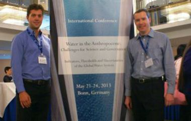 Raymond Siebrits and Owen Horwood at the GWSP Conference 2013 in Bonn